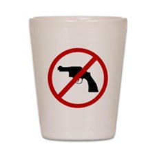 weapons Shot Glass