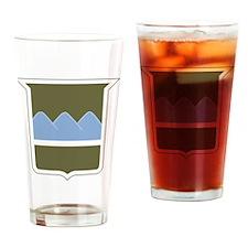 80th ID Drinking Glass