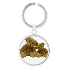 Two Bears Big Brother Round Keychain