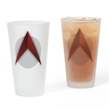 The Scathing Atheist (Logo Only) Drinking Glass