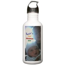 samirs first christmas Water Bottle