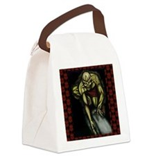 along comes a spider 11x11 200dpi Canvas Lunch Bag