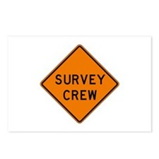 Survey Crew - USA Postcards (Package of 8)