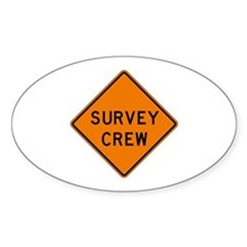 Survey Crew - USA Oval Decal