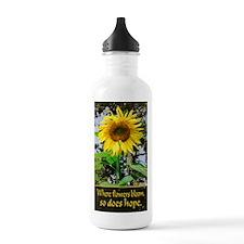 Where Flowers Bloom - Water Bottle
