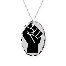 black-powerTransparent78ipad Necklace