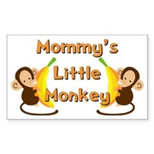 Little Monkey Decal
