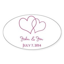 Custom Wedding Favor Decal