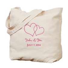 Custom Wedding Favor Tote Bag