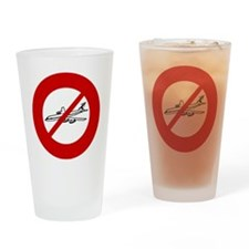 no-airlines Drinking Glass