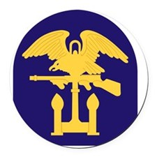 3rd Special Engineer Brigade Round Car Magnet