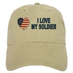 I Love My Soldier Cap