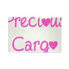 Precious Cargo black Rectangle Magnet