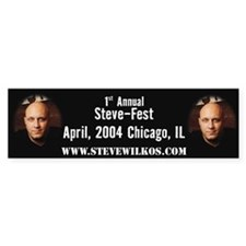 Offical Steve-Fest Bumper Bumper Sticker