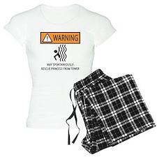 RESCUE PRINCESS Pajamas