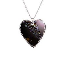 Turtles All The Way Down Necklace Heart Charm