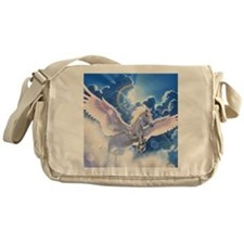 pegasus flying high Messenger Bag