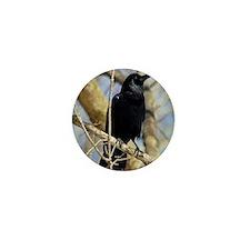 Crow Mini Button