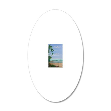 17x11a 20x12 Oval Wall Decal