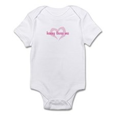 """kenny loves me"" Infant Bodysuit"
