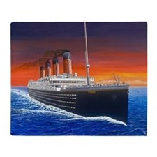 Titanic Throw Blanket