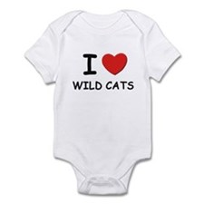 I love wild cats Onesie