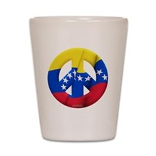 Venezuela Shot Glass