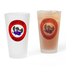 workout2 Drinking Glass