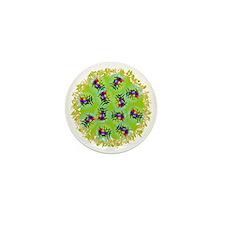 BubblesGreen Mini Button