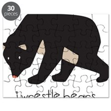 I Wrestle Bears Puzzle