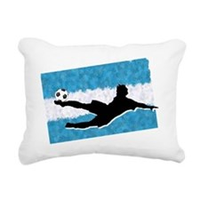 Soccer-Argentina Rectangular Canvas Pillow