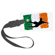 Soccer-Ireland Luggage Tag