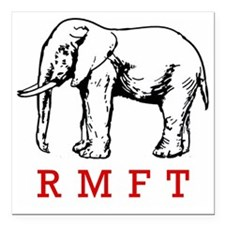 "rmft t shirt copy Square Car Magnet 3"" x 3"""