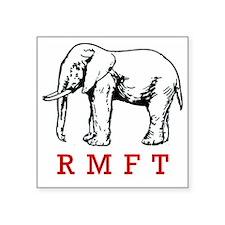 "rmft t shirt copy Square Sticker 3"" x 3"""