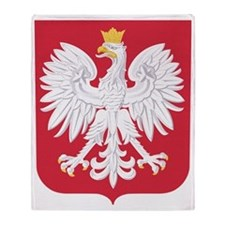 Poland Throw Blanket