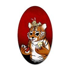 Chueh Tiger Renoly 2010 35x21 Oval Wall Decal