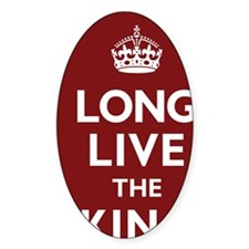 Long Live the King Poster - Dark Re Decal