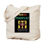 Freeda Peoples Black Tote Bag