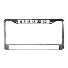 LostNumbers License Plate Frame