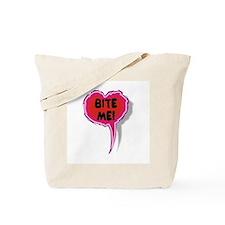 Cupid is Stupid Heart Speak Balloon Design Tote Ba