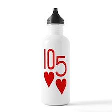 Ten Hearts Five Hearts Sports Water Bottle