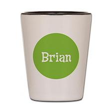 Brian_Button Shot Glass