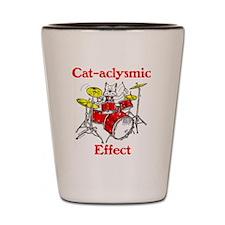 CAT-ACLYSMIC EFFECT Shot Glass