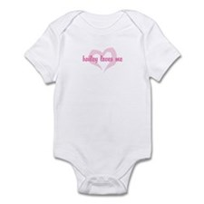 """bailey loves me"" Infant Bodysuit"