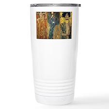 Gustav Klimt - Strong Women Travel Mug