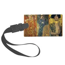 Gustav Klimt - Strong Women Luggage Tag