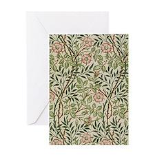 William Morris Sweet Briar Greeting Card