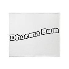 dharmabum2_CPDark Throw Blanket