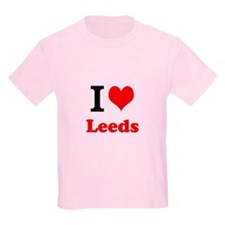 Kids T-Shirt I Love Leeds