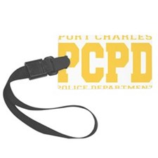 PCPD yellow Large Luggage Tag